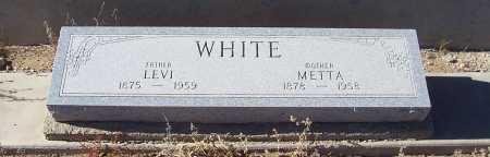 WHITE, LEVI - Gila County, Arizona | LEVI WHITE - Arizona Gravestone Photos