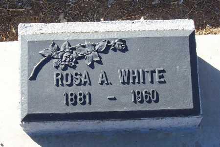 WHITE, ROSA A. - Gila County, Arizona | ROSA A. WHITE - Arizona Gravestone Photos