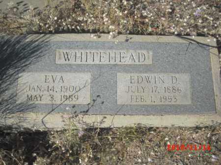 WHITEHEAD, EVA - Gila County, Arizona | EVA WHITEHEAD - Arizona Gravestone Photos