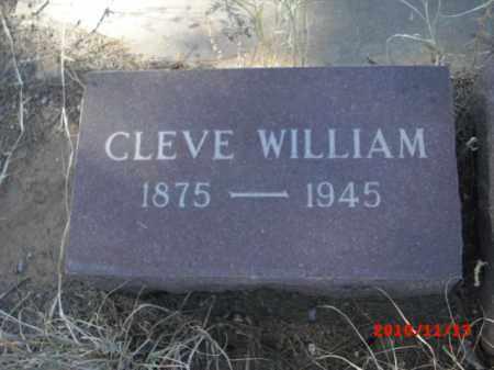 WILLIAM, CLEVE - Gila County, Arizona   CLEVE WILLIAM - Arizona Gravestone Photos