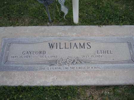 WILLIAMS, GAYLORD - Gila County, Arizona   GAYLORD WILLIAMS - Arizona Gravestone Photos