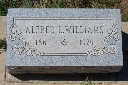 WILLIAMS, ALFRED E. - Gila County, Arizona | ALFRED E. WILLIAMS - Arizona Gravestone Photos