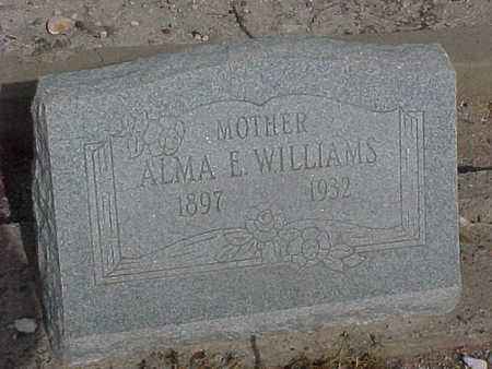 WILLIAMS, ALMA E. - Gila County, Arizona | ALMA E. WILLIAMS - Arizona Gravestone Photos