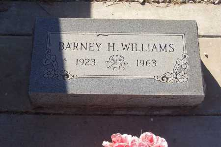WILLIAMS, BARNEY H. - Gila County, Arizona | BARNEY H. WILLIAMS - Arizona Gravestone Photos