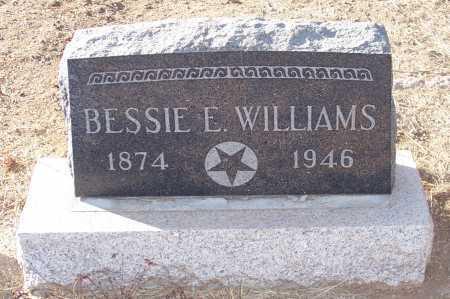 WILLIAMS, BESSIE E. - Gila County, Arizona | BESSIE E. WILLIAMS - Arizona Gravestone Photos