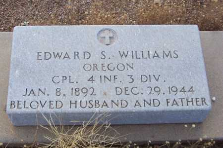 WILLIAMS, EDWARD S. - Gila County, Arizona | EDWARD S. WILLIAMS - Arizona Gravestone Photos