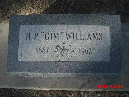 "WILLIAMS, H. P. ""GIM"" - Gila County, Arizona 
