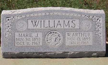 WILLIAMS, MARIE J. - Gila County, Arizona | MARIE J. WILLIAMS - Arizona Gravestone Photos