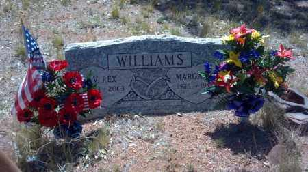 MILLIGAN WILLIAMS, MARGARET - Gila County, Arizona | MARGARET MILLIGAN WILLIAMS - Arizona Gravestone Photos