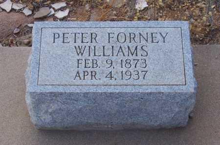 WILLIAMS, PETER FORNEY - Gila County, Arizona   PETER FORNEY WILLIAMS - Arizona Gravestone Photos