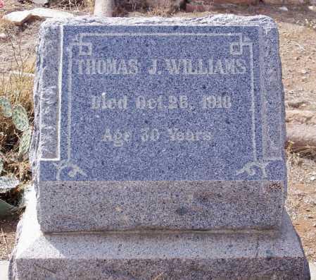 WILLIAMS, THOMAS J. - Gila County, Arizona | THOMAS J. WILLIAMS - Arizona Gravestone Photos