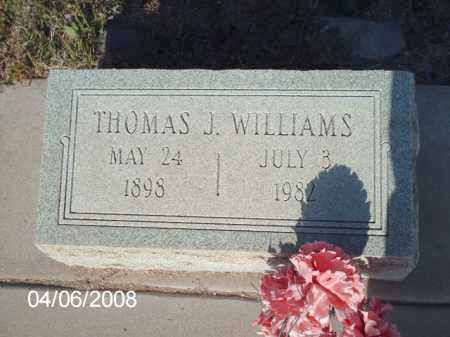 WILLIAMS, THOMAS J. - Gila County, Arizona | THOMAS J. WILLIAMS - Arizona Gravestone Photos
