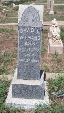 WILMANS, DAVID I - Gila County, Arizona   DAVID I WILMANS - Arizona Gravestone Photos
