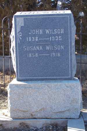 MC PHERSON WILSON, SUSANA - Gila County, Arizona | SUSANA MC PHERSON WILSON - Arizona Gravestone Photos