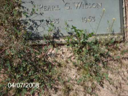 WILSON, PEARL G. - Gila County, Arizona | PEARL G. WILSON - Arizona Gravestone Photos