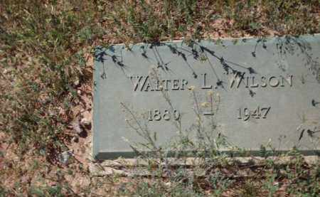 WILSON, WALTER L. - Gila County, Arizona | WALTER L. WILSON - Arizona Gravestone Photos