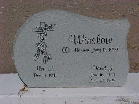 WINSLOW, ALVA  A. - Gila County, Arizona   ALVA  A. WINSLOW - Arizona Gravestone Photos
