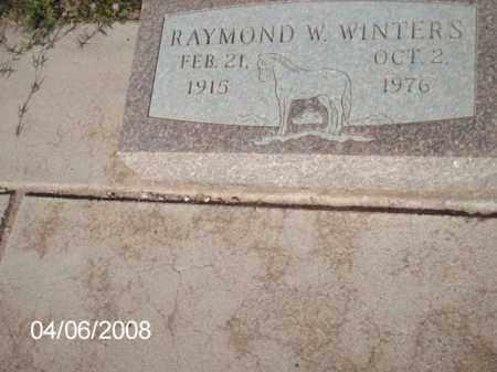 WINTERS, RAMOND W. - Gila County, Arizona   RAMOND W. WINTERS - Arizona Gravestone Photos