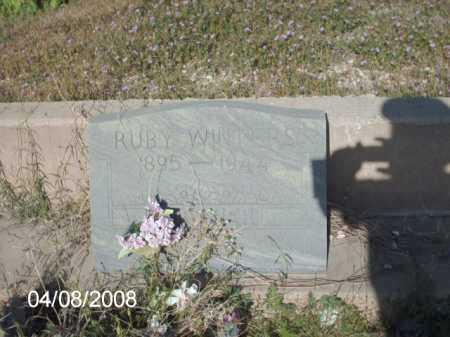 WINTERS, RUBY - Gila County, Arizona | RUBY WINTERS - Arizona Gravestone Photos