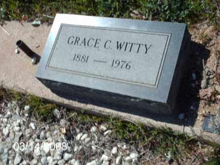 WITTY, GRACE - Gila County, Arizona | GRACE WITTY - Arizona Gravestone Photos