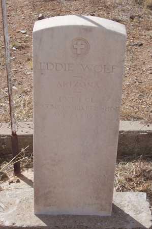 WOLF, EDDIE - Gila County, Arizona | EDDIE WOLF - Arizona Gravestone Photos
