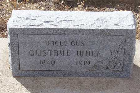 WOLF, GUSTAVE - Gila County, Arizona | GUSTAVE WOLF - Arizona Gravestone Photos