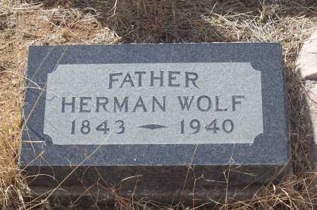 WOLF, HERMAN - Gila County, Arizona | HERMAN WOLF - Arizona Gravestone Photos