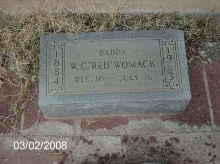WOMACK, RED - Gila County, Arizona | RED WOMACK - Arizona Gravestone Photos