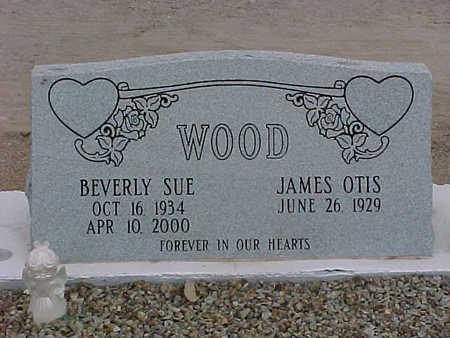 WOOD, BEVERLY SUE - Gila County, Arizona | BEVERLY SUE WOOD - Arizona Gravestone Photos