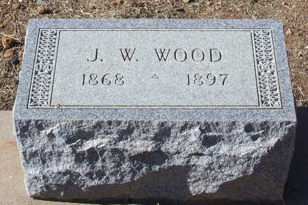 WOOD, J.W. - Gila County, Arizona | J.W. WOOD - Arizona Gravestone Photos