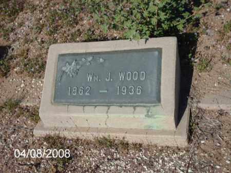 WOOD, WILLIAM  J. - Gila County, Arizona | WILLIAM  J. WOOD - Arizona Gravestone Photos
