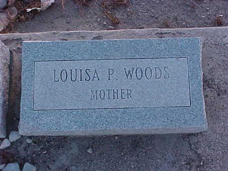 WOODS, LOUISA  PADILLA - Gila County, Arizona | LOUISA  PADILLA WOODS - Arizona Gravestone Photos