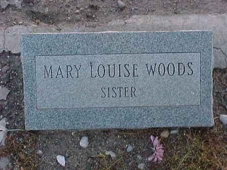 WOODS, MARY LOUISE - Gila County, Arizona   MARY LOUISE WOODS - Arizona Gravestone Photos
