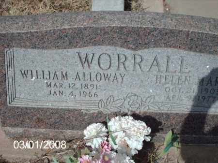 WORRALL, WILLIAM - Gila County, Arizona | WILLIAM WORRALL - Arizona Gravestone Photos