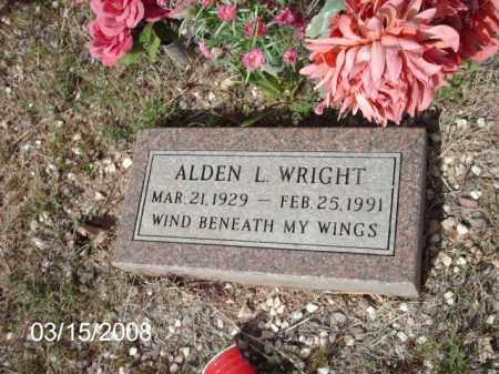 WRIGHT, ALDEN - Gila County, Arizona | ALDEN WRIGHT - Arizona Gravestone Photos