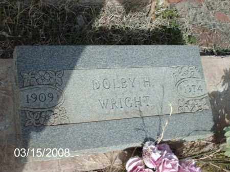 WRIGHT, DOLBY - Gila County, Arizona | DOLBY WRIGHT - Arizona Gravestone Photos