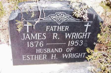 WRIGHT, JAMES R. - Gila County, Arizona   JAMES R. WRIGHT - Arizona Gravestone Photos