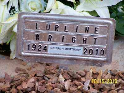 VINCENT WRIGHT, LURLINE ISABEL - Gila County, Arizona | LURLINE ISABEL VINCENT WRIGHT - Arizona Gravestone Photos