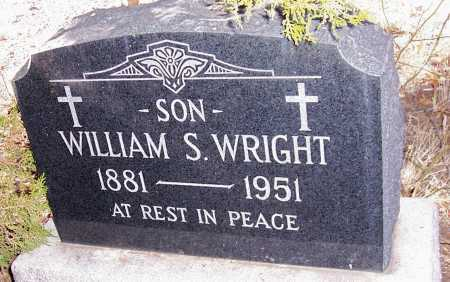 WRIGHT, WILLIAM S. - Gila County, Arizona | WILLIAM S. WRIGHT - Arizona Gravestone Photos