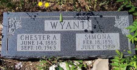 WYANT, SIMONA - Gila County, Arizona | SIMONA WYANT - Arizona Gravestone Photos