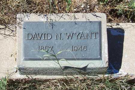 WYANT, DAVID N. - Gila County, Arizona | DAVID N. WYANT - Arizona Gravestone Photos