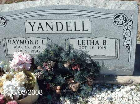 YANDELL, RAYMOND - Gila County, Arizona   RAYMOND YANDELL - Arizona Gravestone Photos