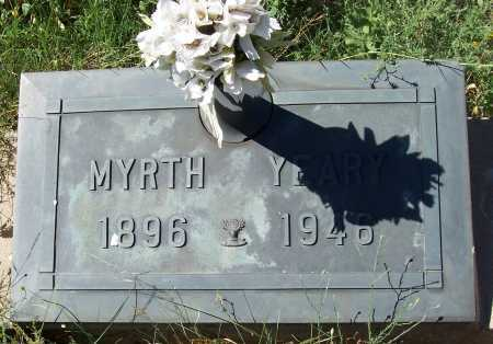 YEARY, MYRTH - Gila County, Arizona   MYRTH YEARY - Arizona Gravestone Photos
