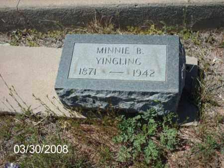 YINGLING, MINNIE B. - Gila County, Arizona | MINNIE B. YINGLING - Arizona Gravestone Photos