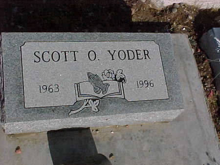 YODER, SCOTT O. - Gila County, Arizona | SCOTT O. YODER - Arizona Gravestone Photos