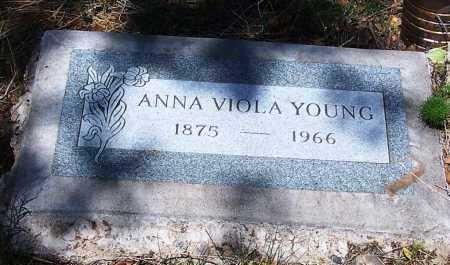 YOUNG, ANNA VIOLA (OLA) - Gila County, Arizona | ANNA VIOLA (OLA) YOUNG - Arizona Gravestone Photos