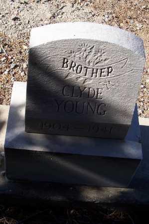 YOUNG, CLYDE - Gila County, Arizona | CLYDE YOUNG - Arizona Gravestone Photos
