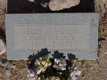 YOUNG, KELLY  O. - Gila County, Arizona | KELLY  O. YOUNG - Arizona Gravestone Photos