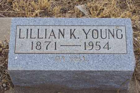 SAUNDERS YOUNG, LILLIAN K. - Gila County, Arizona | LILLIAN K. SAUNDERS YOUNG - Arizona Gravestone Photos