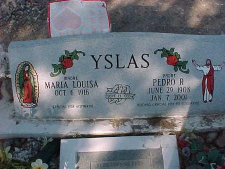 YSLAS, PEDRO  R. - Gila County, Arizona | PEDRO  R. YSLAS - Arizona Gravestone Photos